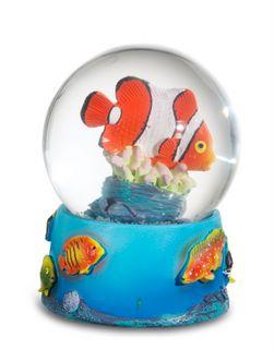 Boule neige poisson clown animaux mer mm me0722 for Poisson clown prix